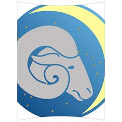 Ram Zodiac Sign Zodiac Moon Star Back Support Cushion