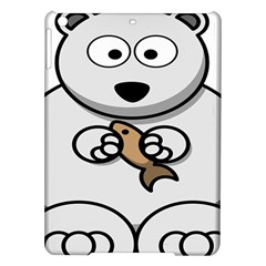 Bear Polar Bear Arctic Fish Mammal Ipad Air Hardshell Cases by Samandel