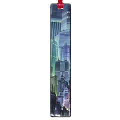 City Night Landmark Large Book Marks by Samandel