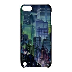 City Night Landmark Apple Ipod Touch 5 Hardshell Case With Stand by Samandel