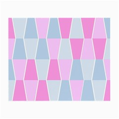 Geometric Pattern Design Pastels Small Glasses Cloth by Samandel