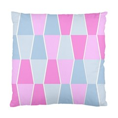 Geometric Pattern Design Pastels Standard Cushion Case (two Sides) by Samandel