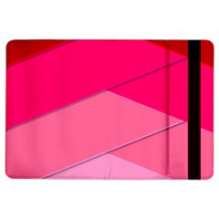 Geometric Shapes Magenta Pink Rose Ipad Air 2 Flip