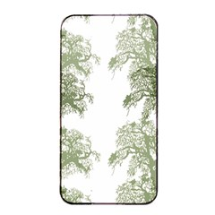 Trees Tile Horizonal Apple Iphone 4/4s Seamless Case (black)