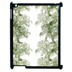 Trees Tile Horizonal Apple Ipad 2 Case (black)