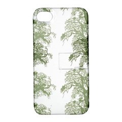 Trees Tile Horizonal Apple Iphone 4/4s Hardshell Case With Stand