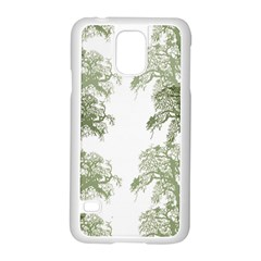Trees Tile Horizonal Samsung Galaxy S5 Case (white)