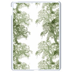 Trees Tile Horizonal Apple Ipad Pro 9 7   White Seamless Case
