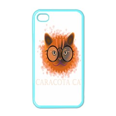 Cat Smart Design Pet Cute Animal Apple Iphone 4 Case (color)