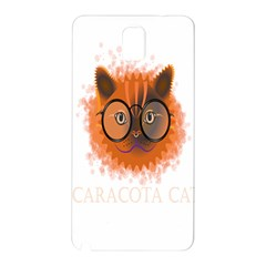Cat Smart Design Pet Cute Animal Samsung Galaxy Note 3 N9005 Hardshell Back Case