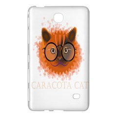 Cat Smart Design Pet Cute Animal Samsung Galaxy Tab 4 (7 ) Hardshell Case  by Samandel