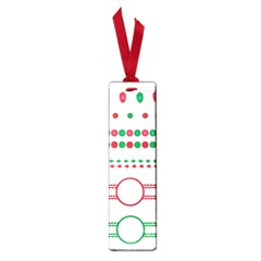 Christmas Borders Frames Holiday Small Book Marks