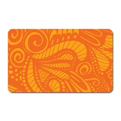 Pop Orange Magnet (rectangular) by ArtByAmyMinori