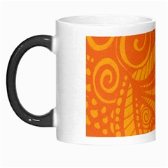 Pop Orange Morph Mugs by ArtByAmyMinori