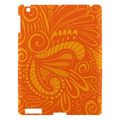 Pop Orange Apple Ipad 3/4 Hardshell Case by ArtByAmyMinori