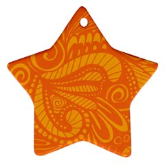 001 2 Star Ornament (two Sides)