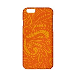 Pop Orange Apple Iphone 6/6s Hardshell Case by ArtByAmyMinori