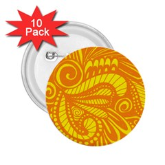 Pop Sunny 2 25  Buttons (10 Pack)