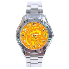 Pop Sunny Stainless Steel Analogue Watch by ArtByAmyMinori