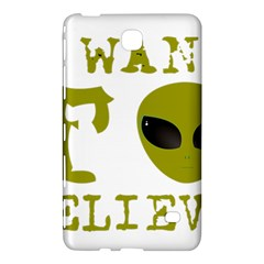 I Want To Believe Samsung Galaxy Tab 4 (8 ) Hardshell Case  by Samandel