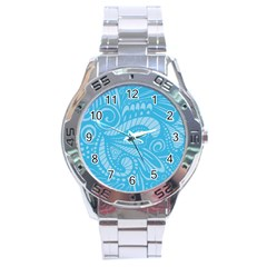 Pop Sky Stainless Steel Analogue Watch by ArtByAmyMinori
