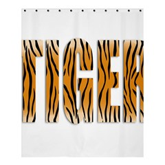 Tiger Bstract Animal Art Pattern Skin Shower Curtain 60  X 72  (medium)