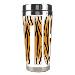 Tiger Bstract Animal Art Pattern Skin Stainless Steel Travel Tumblers