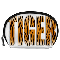 Tiger Bstract Animal Art Pattern Skin Accessory Pouch (large)