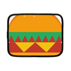 Burger Bread Food Cheese Vegetable Netbook Case (small) by Samandel