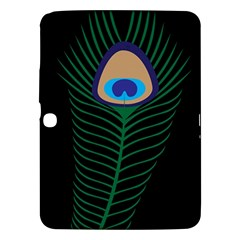 Peacock Feather Samsung Galaxy Tab 3 (10 1 ) P5200 Hardshell Case