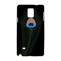 Peacock Feather Samsung Galaxy Note 4 Hardshell Case