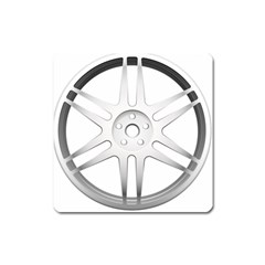 Wheel Skin Cover Square Magnet