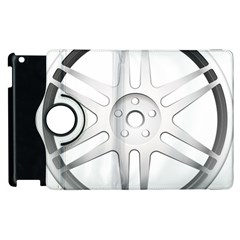 Wheel Skin Cover Apple Ipad 3/4 Flip 360 Case