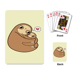 Sloth Playing Cards Single Design