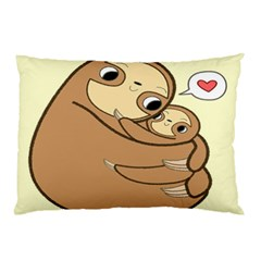 Sloth Pillow Case (two Sides) by Samandel