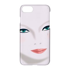Face Beauty Woman Young Skin Apple Iphone 8 Hardshell Case