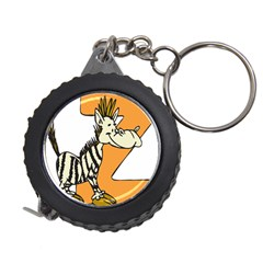 Zebra Animal Alphabet Z Wild Measuring Tape