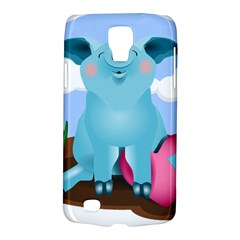 Pig Animal Love Samsung Galaxy S4 Active (i9295) Hardshell Case by Samandel