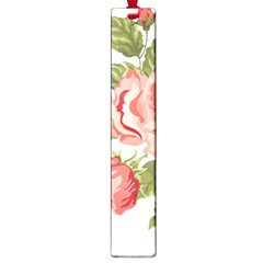 Flower Rose Pink Red Romantic Large Book Marks