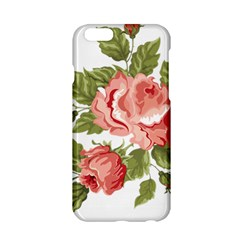 Flower Rose Pink Red Romantic Apple Iphone 6/6s Hardshell Case by Samandel