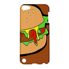Burger Double Apple Ipod Touch 5 Hardshell Case