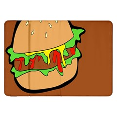 Burger Double Samsung Galaxy Tab 8 9  P7300 Flip Case