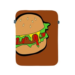 Burger Double Apple Ipad 2/3/4 Protective Soft Cases