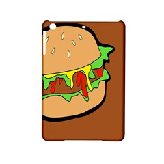 Burger Double Ipad Mini 2 Hardshell Cases by Samandel