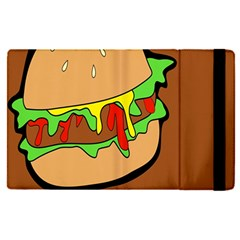 Burger Double Apple Ipad Pro 12 9   Flip Case