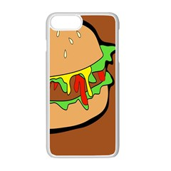 Burger Double Apple Iphone 7 Plus Seamless Case (white)