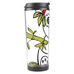 Panda China Chinese Furry Travel Tumbler