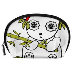 Panda China Chinese Furry Accessory Pouch (large)
