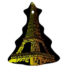 The Eiffel Tower Paris Ornament (christmas Tree)
