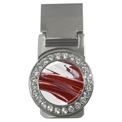 Ruby Pillars Money Clips (cz)